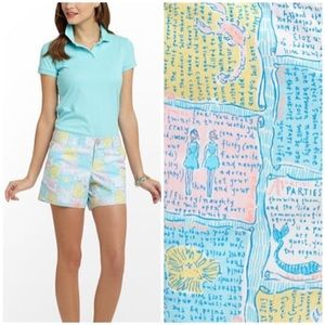Lilly Pulitzer Callahan Shorts Written In The Star